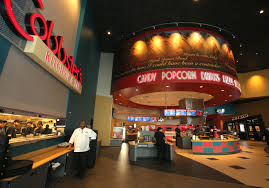 Cobb Libery Luxury Theaters is a local theater to view all these upcoming movies. Photo from google images.