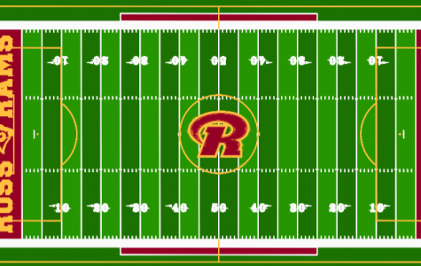 The blueprint of the future RHS turf field shows the football lining along with the soccer lining. The project is expected to begin in summer 2019.
