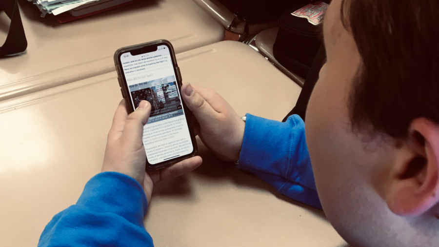 As a student browses the news he scrolls past an article about the crisis in Yemen. Many members of our society today do not concern themselves with foreign issues.