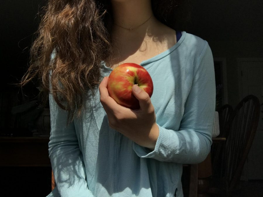 A student struggling with an eating disorder nourishes herself while realizing her worth goes deeper than what she sees on the outside.