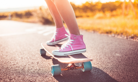 Skateboarding is a great example of a fun new activity to learn.