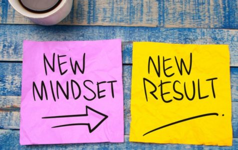 Image shows new mindsets creates a new result. Credit: Unknown