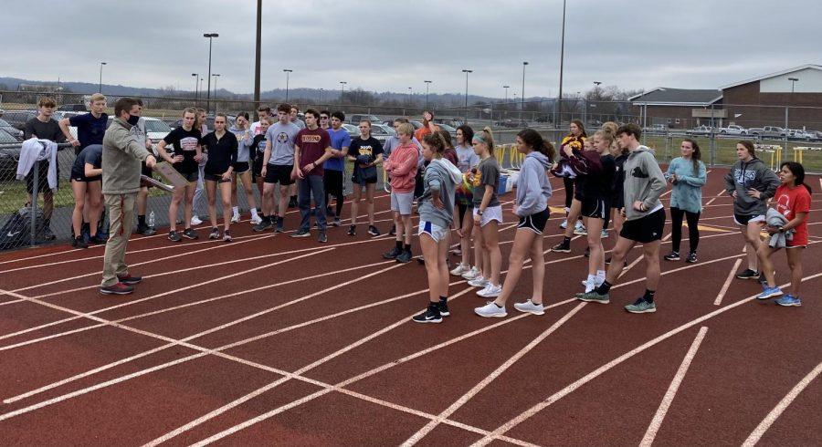 Track Team Runs into New Beginnings