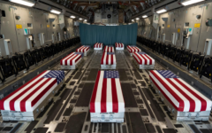 Of the 13 fallen soldiers, 11 are pictured returning home from Afghanistan. Photo credit: U.S. Marine Corps Twitter