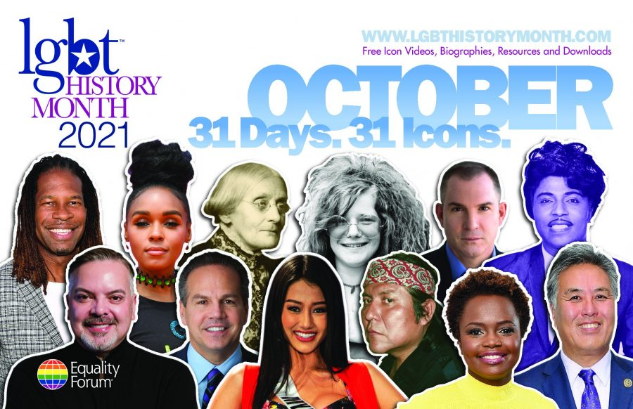 Lgbtq+historymonth.com honours 31 icons in October.
